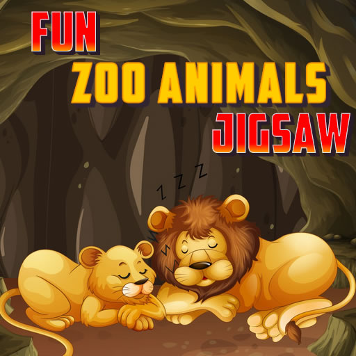 Fun Zoo Animals Jigsaw