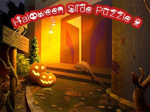 Image Halloween Slide Puzzle 2
