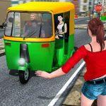 Public Tricycle Rickshaw Driver